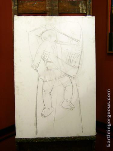 Unfinished art of Ang Kiukok