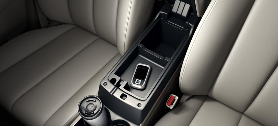 Mazda CX-7 center console
