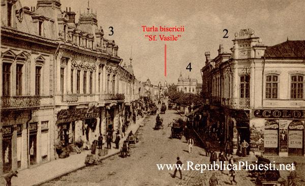 Calea Campinei si Hanul Hagi Petre Buzila (dreapta)