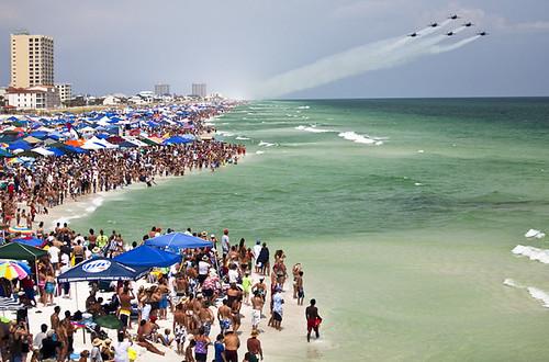 Blue Angels Over Pensacola Beach