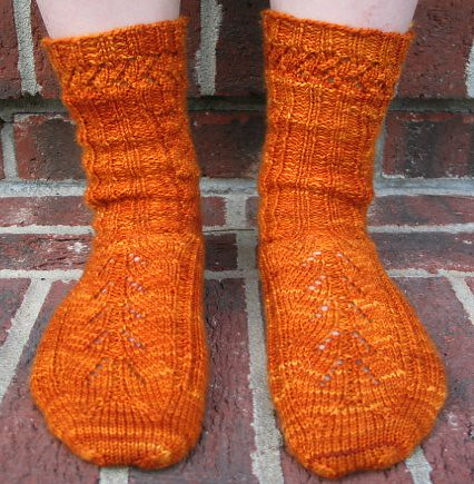 Pumpkin Mystery Socks