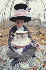 care for some tea? (the half-blood prince) Tags: adam forest ruffles costume buffalo woods tea invitation mad johnnydepp teacup wonderland invite saucer teaparty aliceinwonderland hatter themadhatter nikkor105mmf28fisheye