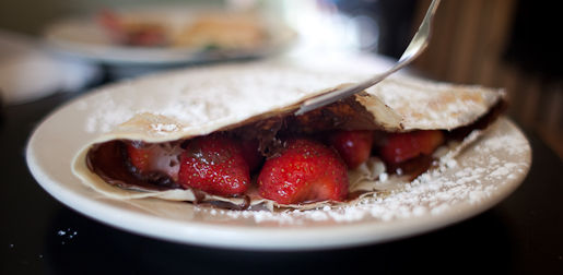 Strawberry Nutella Crepe