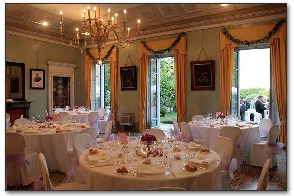 Reception Venue in Como