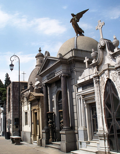 Recoleta Cemetery | Cementerio de la Recoleta, Buenos Aires, Argentina by katiemetz, on Flickr