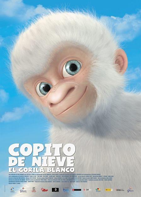 poster película Copito de Nieve
