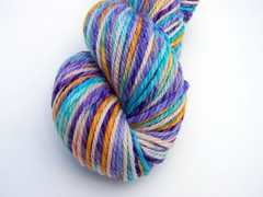 Butterfly Fish Titan Twist Merino Yarn