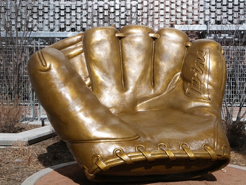 Gold Glove at Target Field