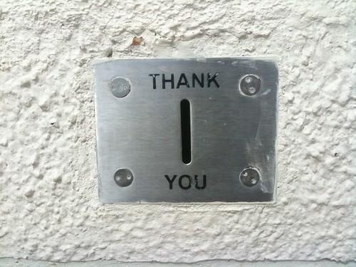 Thank You slot