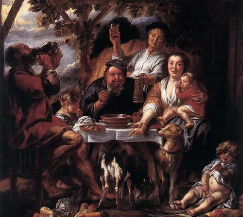 Jordaens-satyr-and-peasants