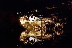 Wookey Hole Caves (scuba_dooba) Tags: colour film 35mm village hole wells somerset tourist hills caves negative limestone gorge cheddar attraction mendip wookey plustek vuescan 7600i