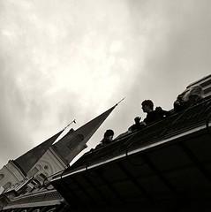 Point of View (0zzie) Tags: bw neworleans bn frenchquarter nola zack ozzie louisana 0z saintlouiscathedral zackjennings nikond3 5834jaxsquare24dec08web