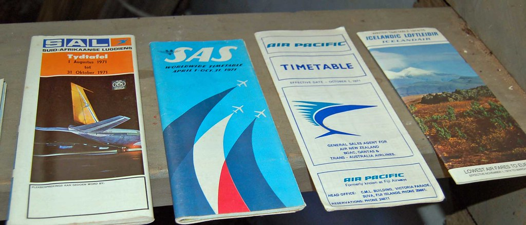 Airline timetables 0766
