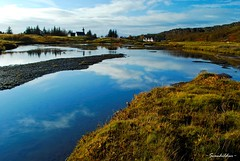 National Treasures (~Svanhildur~ / ...2 Busy 4 Flickr... :( /) Tags: trees sky church water clouds reflections iceland ingvellir nikond60 bej fineartphotos citrit theunforgettablepictures vrnikkor