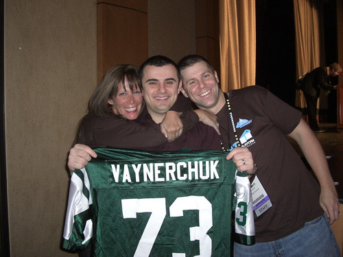 Group Hug - Missy Ward, Gary Vaynerchuk, and Shawn Collins