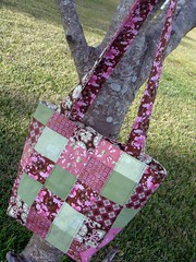patchwork bag, side b