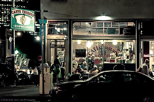 Caffe Trieste by Justin Korn