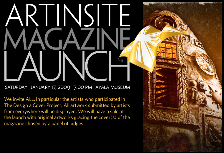 ARTINSITE MAGAZINE LAUNCH
