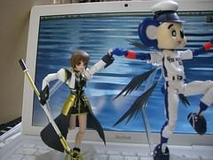 figma 八神はやて 騎士甲冑ver. vs. ドアラ/figma Hayate Yagami Knight Armor ver. vs Doala