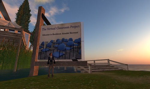 The Virtual Classroom Project space on the island of jokaydia