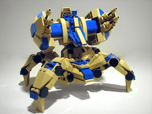 Starcraft 2 Lego Immortal