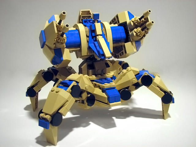 Custom LEGO StarCraft 2 Units