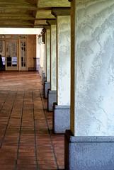 Hallway (Rick Insane Diego...) Tags: sandiego hilton nik missionbay procontrast detailstylizer