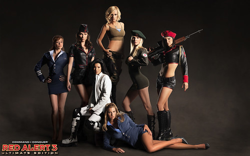Red Alert 3 Ultimate Edition Screenshot - Girls of RA3