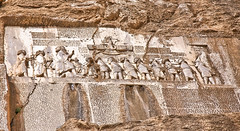 Greatness (hapal) Tags: rock stone eos iran creativecommons iranian ایران kermanshah rosettastone سنگ bistoon بیستون anchient کرمانشاه داریوش 40d کتیبه هخامنشی hamidnajafi darioosh حمیدنجفی farveharcanon behistuninscription