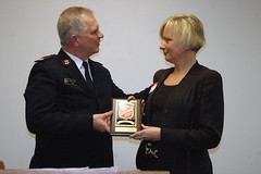 Major Amick welcome Lorrie Algate