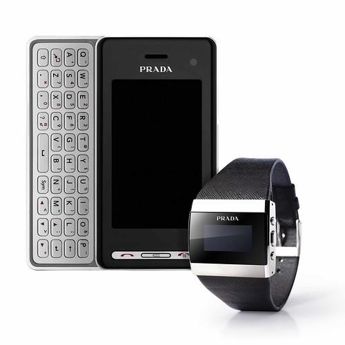 PRADA Phone by LG and PRADA Link