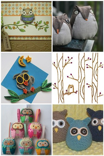 Flickr Inspiration - Crafty Owls