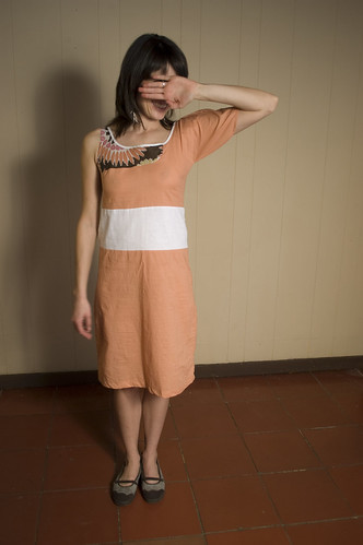 vestido: nectarina