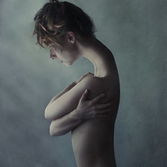 inoculate (brookeshaden) Tags: selfportrait spread alone break bend machine doctors regenerate extend medics quarentine nikond80 fixher inoculate brookeshaden