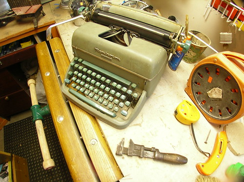 Haunted Typewriter: Dream Fulfilled