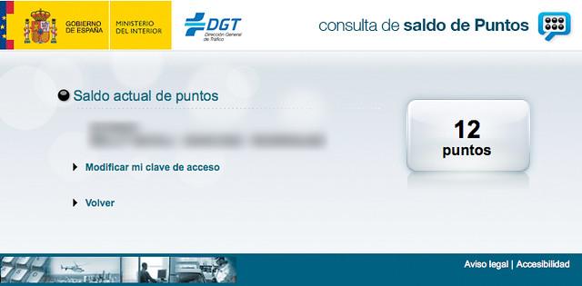 puntos DGT