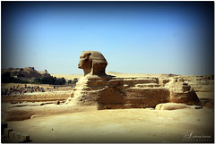Great Sphinx of Giza (AndreaKamal.com) Tags: summer history sphinx lion egypt cairo giza gypten egitto gizeh