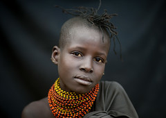 Miss Lobei, Turkana girl - Kenya (Eric Lafforgue) Tags: africa portrait people face beads kenya culture tribal human tribes bead afrika tradition tribe ethnic tribo gens visage afrique ethnology tribu eastafrica beadednecklace qunia 3502 lafforgue ethnie ethny  qunia    beadsnecklace kea    humainpersonne a