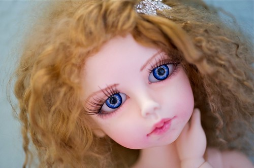 Anya, by Kim Lasher. A normal skin, full-set BJD, about MSD size.