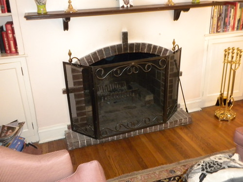 fireplace and mantel 2