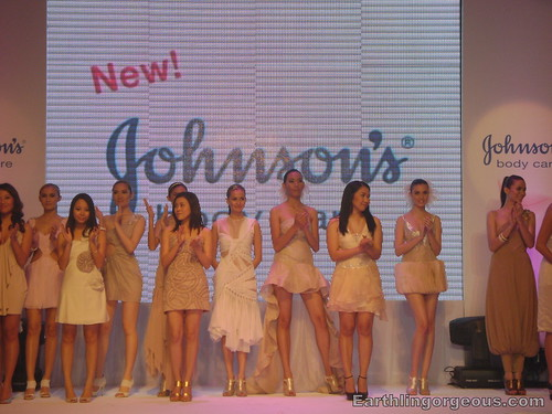 Mini-fashion show at John's Body Care Launch