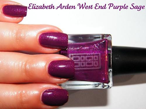 Elizabeth Arden West End Purple Sage