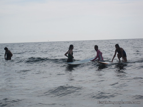 Surfing lessons!