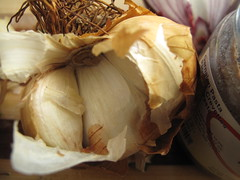 Smoked garlic