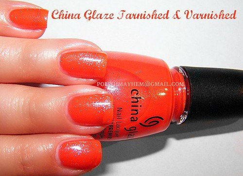China Glaze Tarnished & Varnished