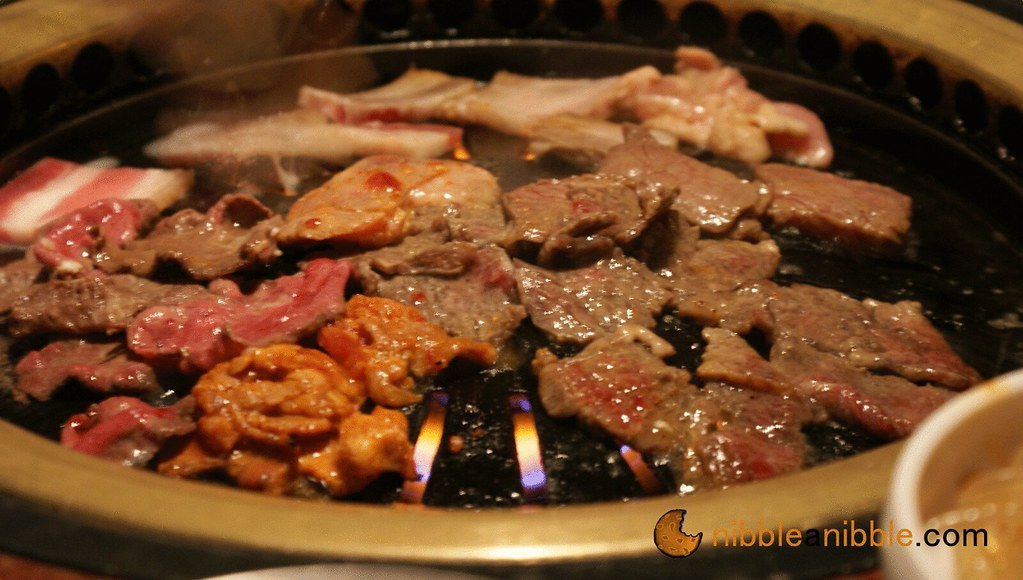 cooking korean barbeque