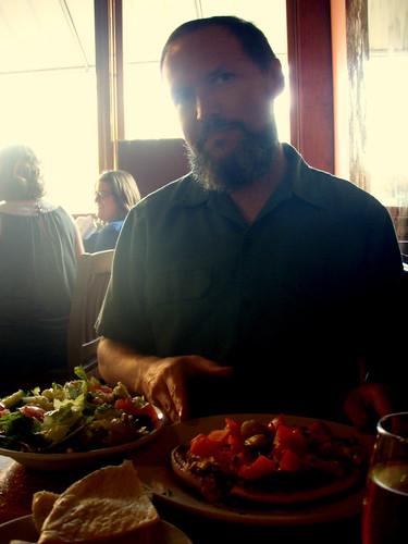 birthday dinner - mediterranean tea room