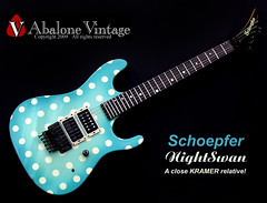 1989 KRAMER Nightswan Schoepfer guitar vintage Vivian Campbell polka dot (eric_ernest) Tags: original musician music art classic beautiful museum vintage photo cool model pointy tour graphic photos guitar band 5150 guitars columbia musical prototype 1984 series voyager eddievanhalen campbell halen rare kramer guitarist recording hardrockcafe airbrush pacer guitarplayer pickups vibe paf patent humbucker charvel guitarcollection evh floydrose sandimas airbrushed vivan guitarsolo madeintheus baretta frankenstrat madeintheusa vintageguitar guitarshow nightswan edwardvanhalen vintageguitars guitarshows schoepfer guitarcollections rareguitar guitarphotos rockinger rareguitars kramerkonvention guitarcollecting vintagekramerguitars abalonevintage vintagekramer denniskline httpwwwabalonevintagecom 918v pacercarrera pacercarerra