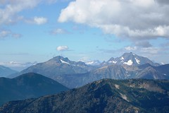 View of North Cascades from Slate Peak