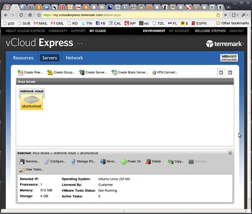 Up and Running on vCloud Express